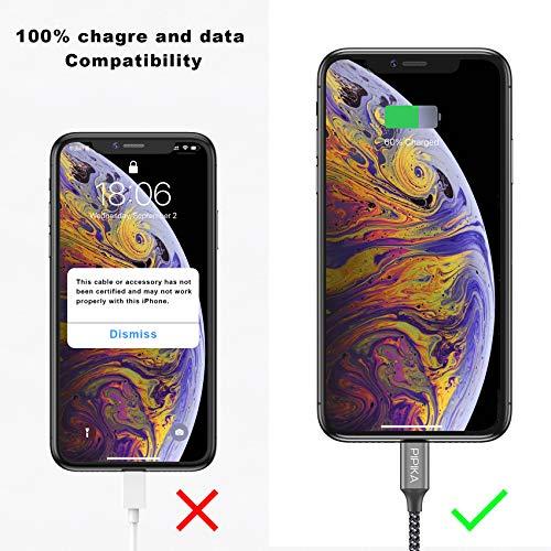 PIPIKA USB C auf Lightning Kabel [1.2M] MFi Zertifiziert Power Delivery Typ C to Lightning Ladekabel kompatibel mit iphone 12/12 Pro/12 Pro Max/12 Mini/11/11 Pro/XR/XS/X/8/8 Plus