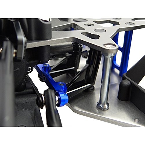 Hot Racing LRR4806 Aluminum Steering Bellcrank Set - R Rey B Rey