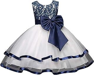 AIKOSHA AIKOSHA ガールズ フォーマル ドレス ワンピース カラードレス 100-140cm 誕生日 発表会 結婚式 七五三 パーティに
