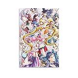 BUJI Poster mit japanischem Anime-Motiv von Sailor Moon, 30
