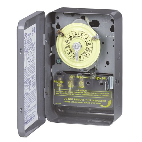 Intermatic T103 Mechanical Time Switch, Gray