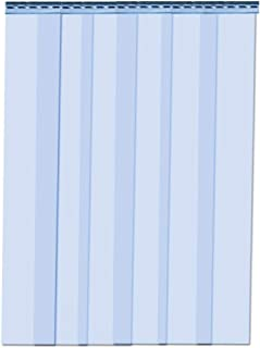 VIZ-PRO Strip Door Curtain 3' Width x 7' Height Standard Clear PVC 7.87
