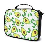 Cute Avocado and Tropical Leaves Travel Baby Cosmetic Bag Bags Cosmetic XL Toiletry Bag Multifunción Impreso Bolsa para Mujeres