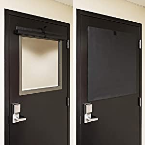 ALP Lockdown Shades, Classroom Blackout Shades for Windows. Patented, Easy to Clean Room Darkening Shades for Doors and Windows. Custom Sizing Available (10
