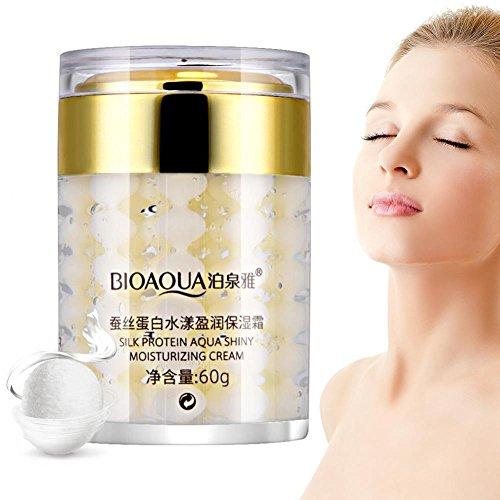 Schneckencreme, Seidenprotein Feuchtigkeitsspendende Gesichtscreme Aufhellendes Öl, das Essenz Schönheits Kosmetik Kontrolliert
