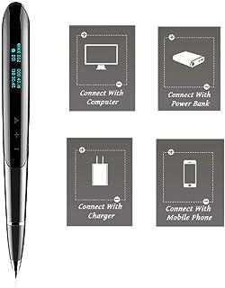 Dicteerapparaat Mini Digital Voice Activation Recorder met tijdstempel dicteerband afspelen HiFi MP3 voor het opnemen van ...