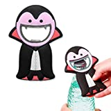Balvi - Vladimir Bottle Opener in Vampire Shape. Funny Design for Your Parties. Made of Metal and Rubber.
