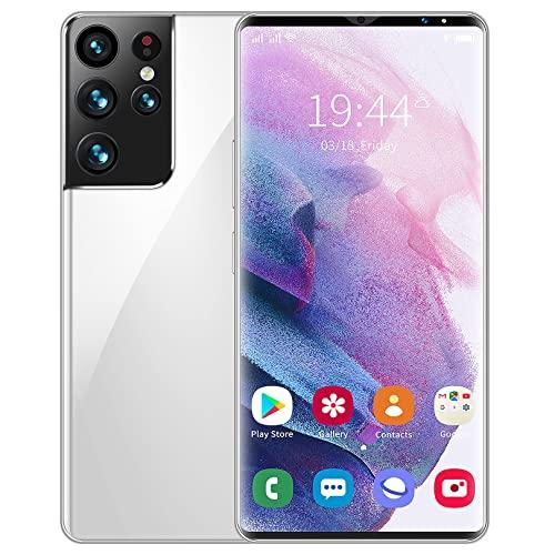 SYJY Smartphone Android 5G Desbloqueado, batería Grande de 6000 mAh, Android 11.0, Tarjeta SIM Doble, Pantalla Completa de 6.1 Pulgadas, 32MP + 64MP