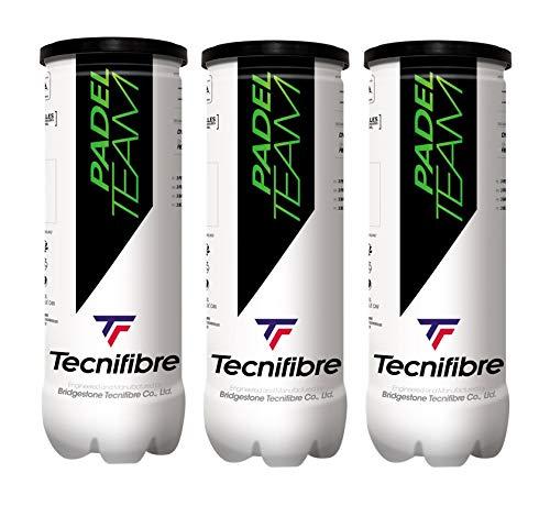 Tecnifibre Balles de Padel Team tripack Adulte...