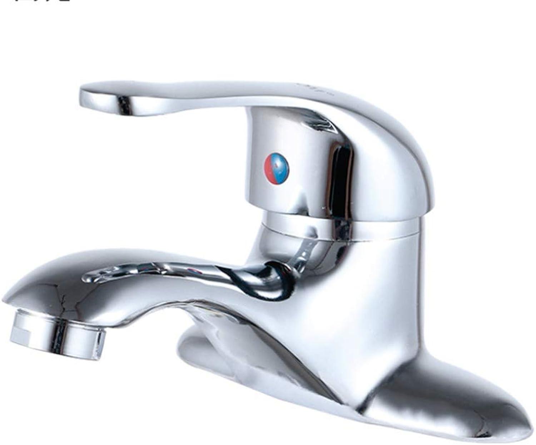 Basin Mixer Tap Bath Fixtures Wash Basinsinkkitchen 304 Stainless Steel Basin, Hot and Cold, Four Sides Faucet, Bathroom Basin, Water Mixing Basin, Washbasin.