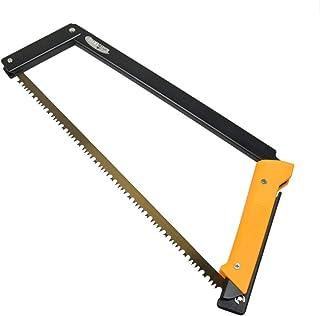 Agawa Canyon - BOREAL21 Folding Bow Saw - Black Frame, Yellow Handle, All-Purpose Blade