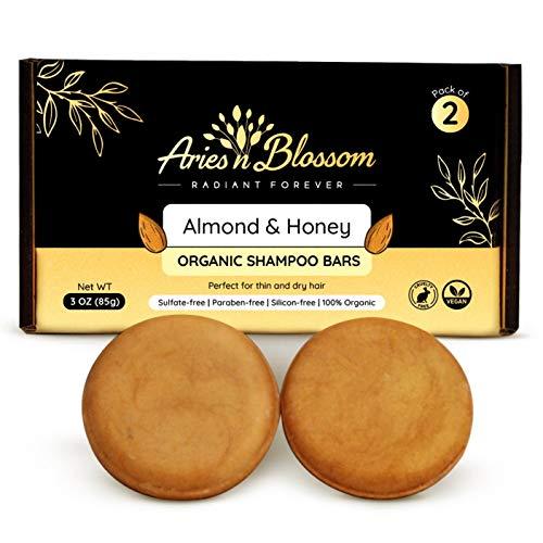 Aries N Blossom Organic Shampoo Bars, Shampoo and Conditioner Bar, Shampoo Bars for Hair