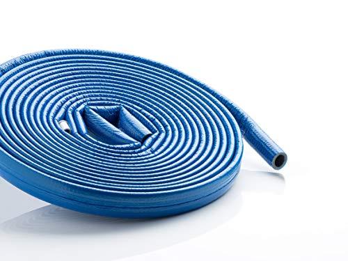 Rohrisolierung PE mit stabiler Schutzhaut rot oder blau 15-35mm | Dämmdicke 4mm Climaflex Stabil (Rohrisolierung PE stabil 4mm blau, 18mm x 4mm x 10m)