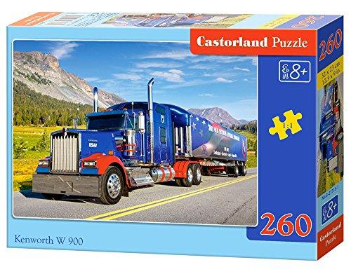 Castorland Kennworth W 900 260 pcs Puzzle - Rompecabezas (Puzzle rompecabezas, Vehículos, Niños y adultos, Niño/niña, 9 año(s), Interior) , color/modelo surtido