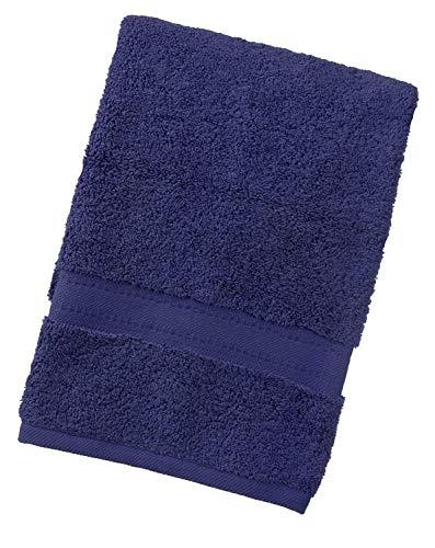 aztex Gama egipcia, Toallas 100% algodón - Toalla de Mano, Azul Marino