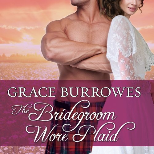 The Bridegroom Wore Plaid audiobook cover art