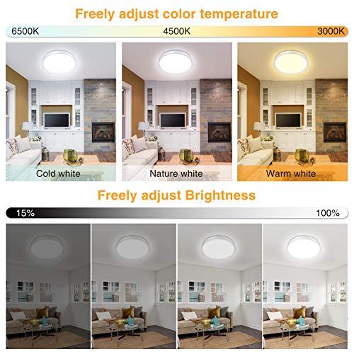 Efelandhome Iluminación de techo de interior