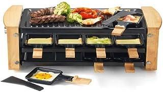 Kitchen chef - kcwood.8rp - Appareil … raclette 8 personnes 1200w + grill