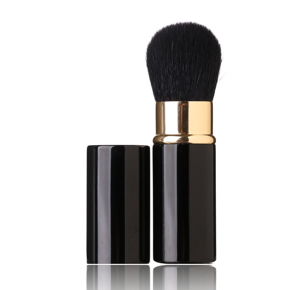 Max 42% OFF Retractable Makeup Brush - Ranking TOP13 Goat Hairs Face Loose Powd Portable