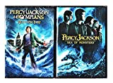 Percy Jackson lightning Thief & Percy Jackson: Sea of Monsters DVD Set Amazing Fantasy Olympians Double Feature