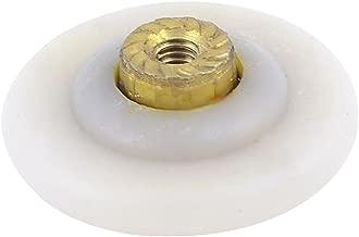 Armario para plástico Beige 28 mm de diámetro cilindro de puerta polea rodillo