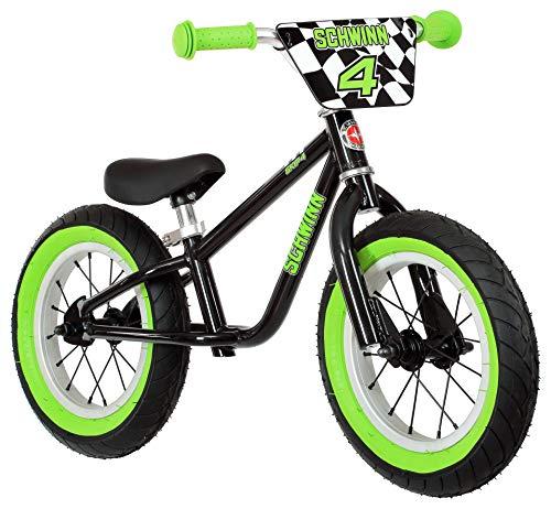 Schwinn Balance Toddler Bikes, 12-Inch Wheels, Beginner Rider Training, Multiple Colors -