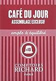 Comptoirs Richard Café du Jour en Capsules Compatibles 10 Pièces 50 g - Lot de 5