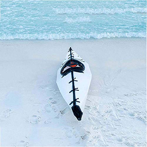 MUBAY 1 Persona Plegable Kayak, Hardware Plegable Océano Barco, Barco Inflable, el General Canoa, Goma Asalto Barco Barco, Apta for la Pesca Salvaje