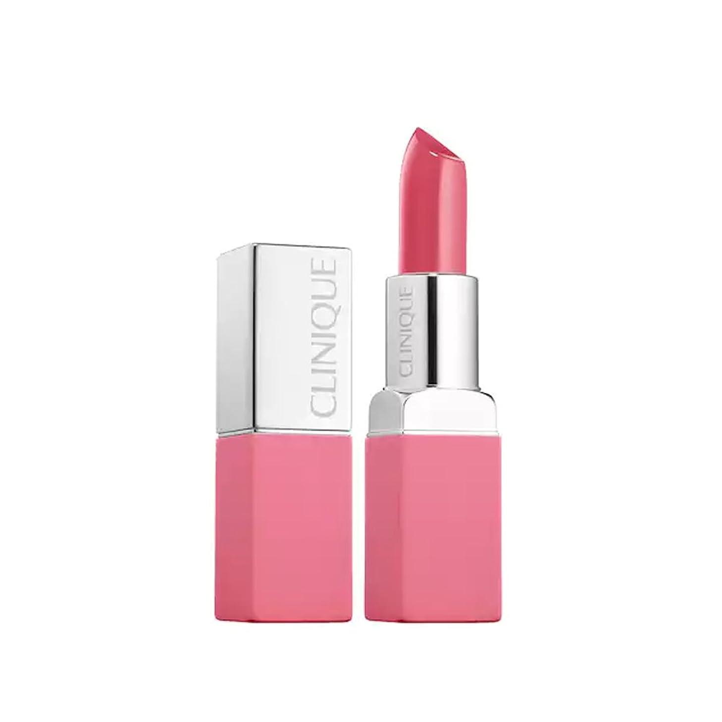 警察署素朴な米国クリニーク Pop Matte Lip Colour + Primer - # 13 Peony Pop 3.9g/0.13oz並行輸入品