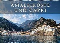 Amalfikueste und Capri (Premium, hochwertiger DIN A2 Wandkalender 2022, Kunstdruck in Hochglanz): Die Amalfikueste und die Insel Capri gelten als die schoensten Mittelmeer-Destinationen. (Monatskalender, 14 Seiten )