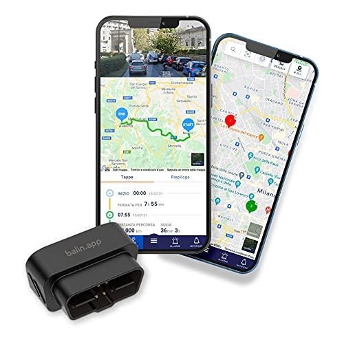 Balin.app - Mini Localizzatore GPS professionale per veicoli, con SIM card...