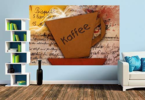 Premium Foto-Tapete ORIGAMI - Kaffee (versch. Größen) (Size M   279 x 186 cm) Design-Tapete, Wand-Tapete, Wand-Dekoration, Photo-Tapete, Markenqualität von ERFURT