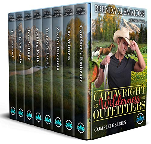 Cartwright Wilderness Outfitters Complete Series (Box Set Sweet Clean Contemporary Romance Series Book 5)