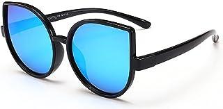 Yiph-Sunglass - Sunglass Fashion Personalidad Ojos de Gato Niños y niñas Gafas de Sol polarizadas Flexibles con Caja de protección UV para niños de 3 a 10 años