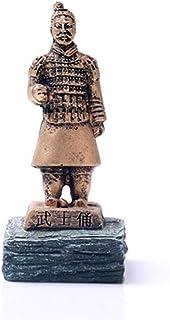 GAONAN-URG 中国西安から中国の始皇帝のサムライザ・兵馬俑 GAONAN-URG (Color : Gold)