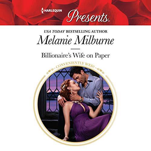 Billionaire's Wife on Paper audiobook cover art