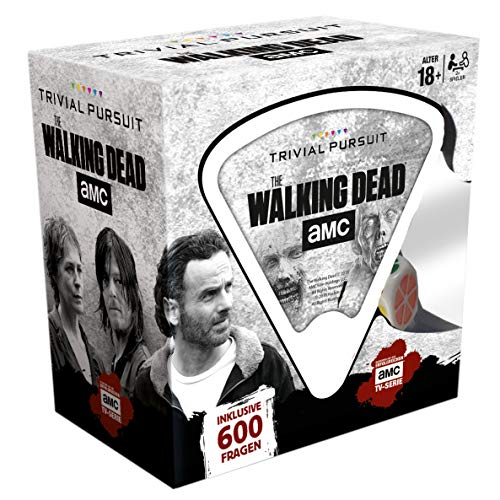 Trivial Pursuit - The Walking Dead AMC - The Walking Dead Merchandise - Alter 18+ - Deutsch