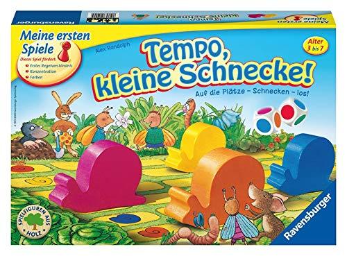 Tempo, kleine Schnecke!: Auf die Plätze – Schnecken – los!