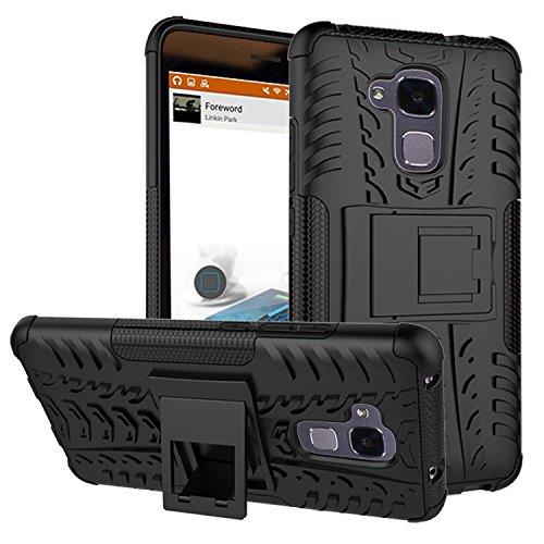 QiongniAN Cover per Huawei GT3,Staffa Antiurto Custodia per Huawei GT3 NMO-L02 NMO-L03 NMO-L22 NMO-L23 NMO-L31 Custodia Case Cover Black