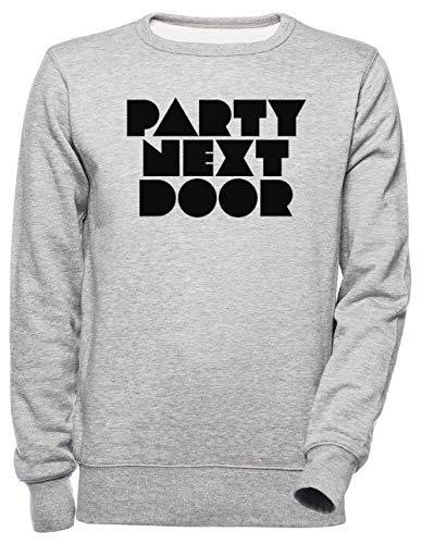 Luxogo Partynextdoor Unisexo Gris Sudadera Hombre Mujer Unisex Grey Jumper Men's Women's