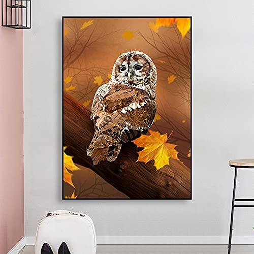 Bnnauv Puzzle 1000 Piezas Pintura artística de pájaros y Animales Coloridos en Juguetes y Juegos Rompecabezas de Juguete de descompresión intelectual50x75cm(20x30inch)