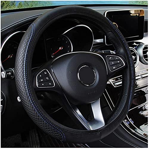 USNASLM Funda de cuero para volante de coche, para Citroen C1 C2 C3 C4 C5 C6 Berlingo Jumper Xsara Picasso Aircross Cactus Auto Accesorios