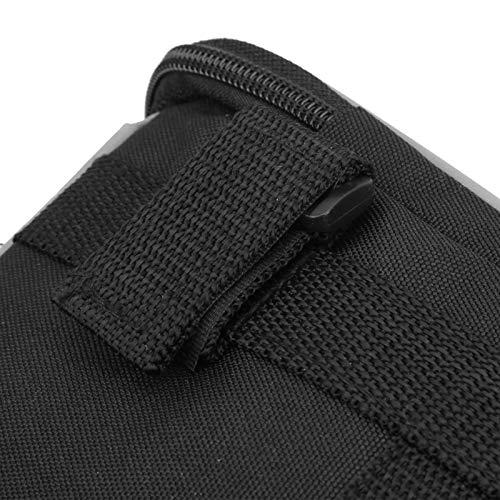 Yivibe Lenker-Korbtasche, Frontbalken-Tasche, mit wasserdichtem und empfindlichem TPU-Touchscreen, mit Zwei seitlichen Netztaschen, einfach zu bedienen, zur Aufbewahrung von Flaschen nach Hause