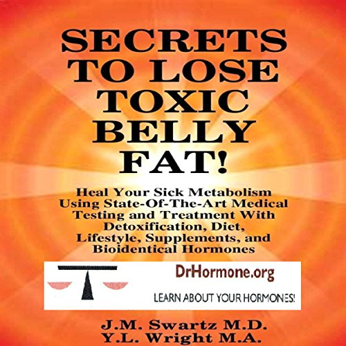 Secrets to Lose Toxic Belly Fat cover art