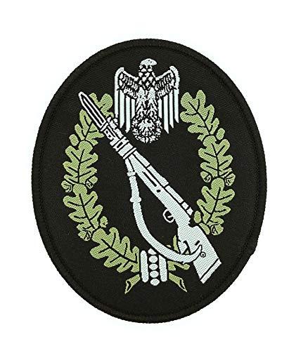 Gemelolandia | Parche del Distintivo Insignia asalto de infantería Alemana WWII -...