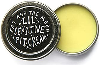 Fat and The Moon - All Natural/Organic Sensitive Pit Cream (Baking Soda Free) (.5 oz tin)