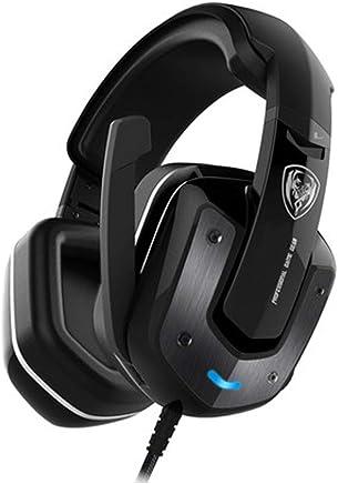 USB Gaming Headset - Dolby 7.1 Surround Sound Cuffie, Auricolare Stereo di Gioco per PS4, PC, Xbox Un Controller, Rumore annulla sopra Le Cuffie dell'orecchio con Il Mic,-RPO-Black - Trova i prezzi più bassi