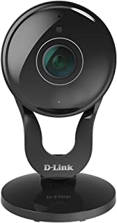 D-Link Full HD 180-Degree WiFi Security Camera – 1080P – Indoor – Night Vision – Remote Access – Works with Google Assistant – Casting – Streaming (DCS-2530L)