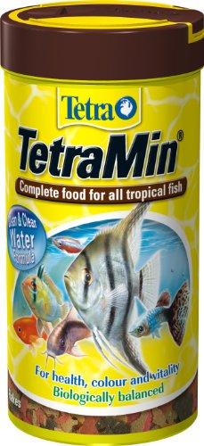 Tetra TetraMin Nourriture pour Poissons tropicaux 250 ML Lot de 2