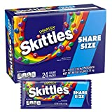 Skittles Darkside Share Size Candy, 4 Ounces - 24 Count